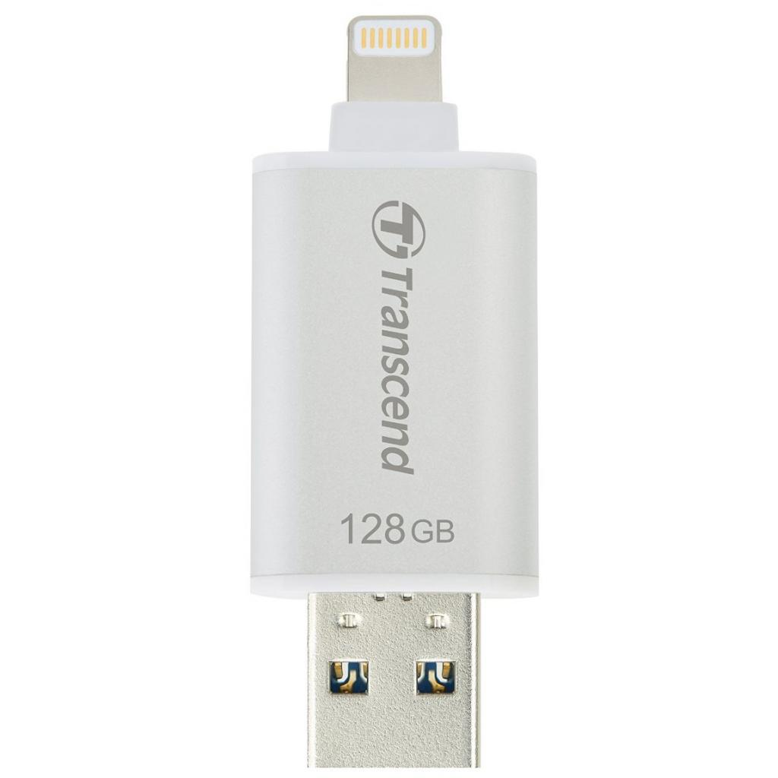 USB флеш накопитель Transcend 128GB JetDrive Go 300 Silver USB 3.1 (TS128GJDG300S) изображение 4