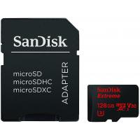 Карта памяти SANDISK 128GB microSDXC class 10 UHS-I 4K Extreme Action (SDSQXVF-128G-GN6AA)