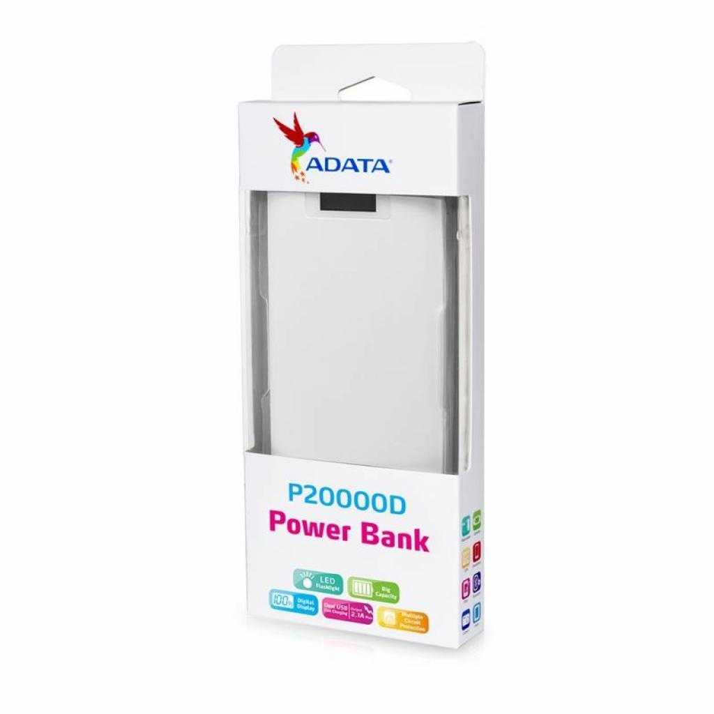 Батарея универсальная ADATA P20000D 20000mAh Black (AP20000D-DGT-5V-CBK) изображение 5