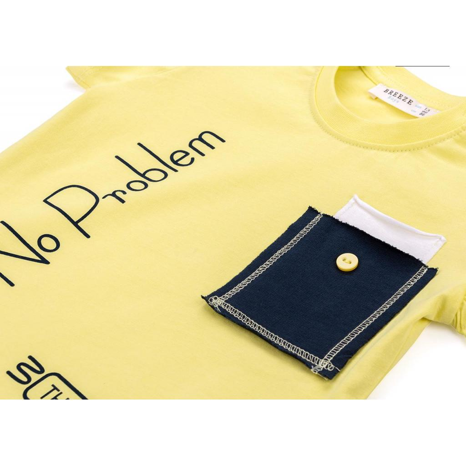 """Набор детской одежды Breeze """"No problem"""" (10256-98B-green) изображение 9"""