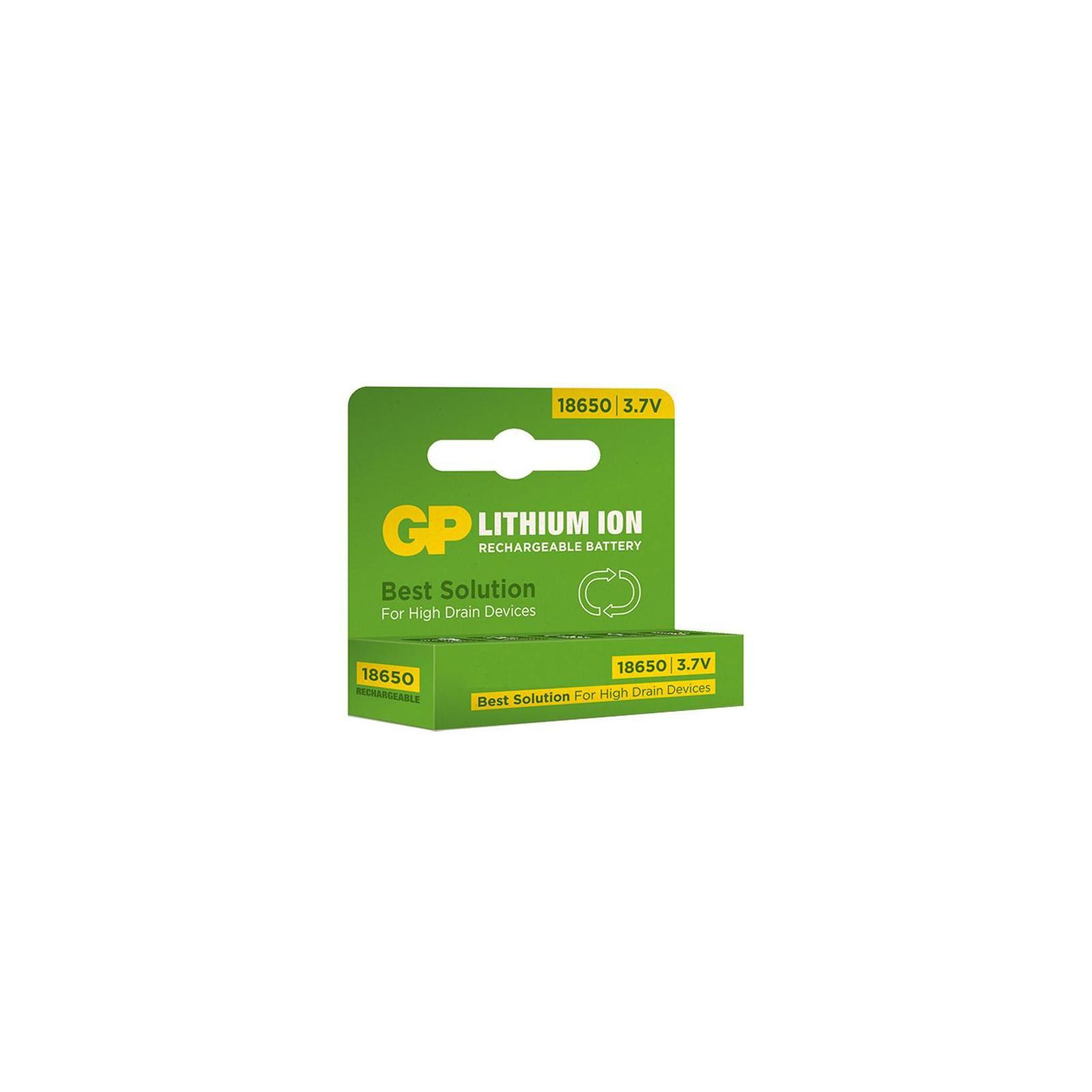 Аккумулятор Gp 18650 2200 mAh (max 6.6А) (GP1865T220) изображение 2