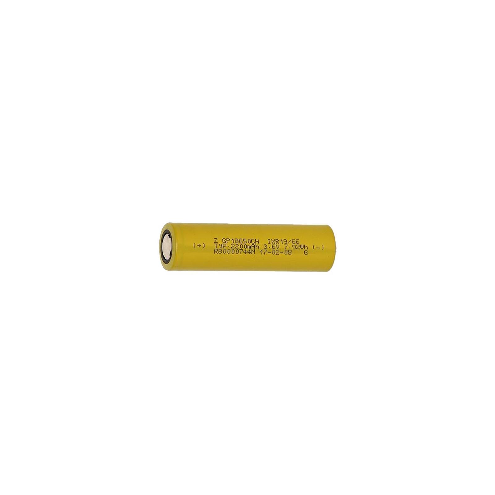 Аккумулятор Gp 18650 2200 mAh (max 6.6А) (GP1865T220)