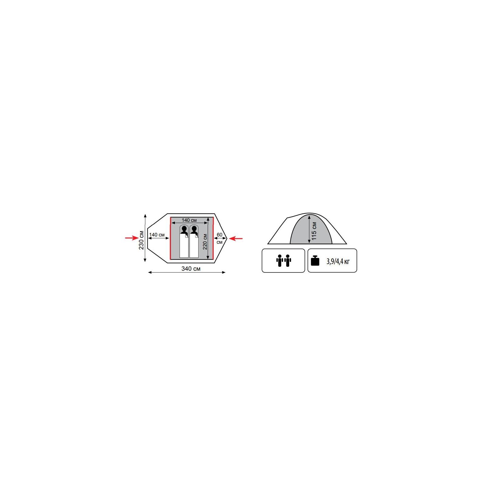 Палатка Tramp Colibri Plus v2 (TRT-035) изображение 2