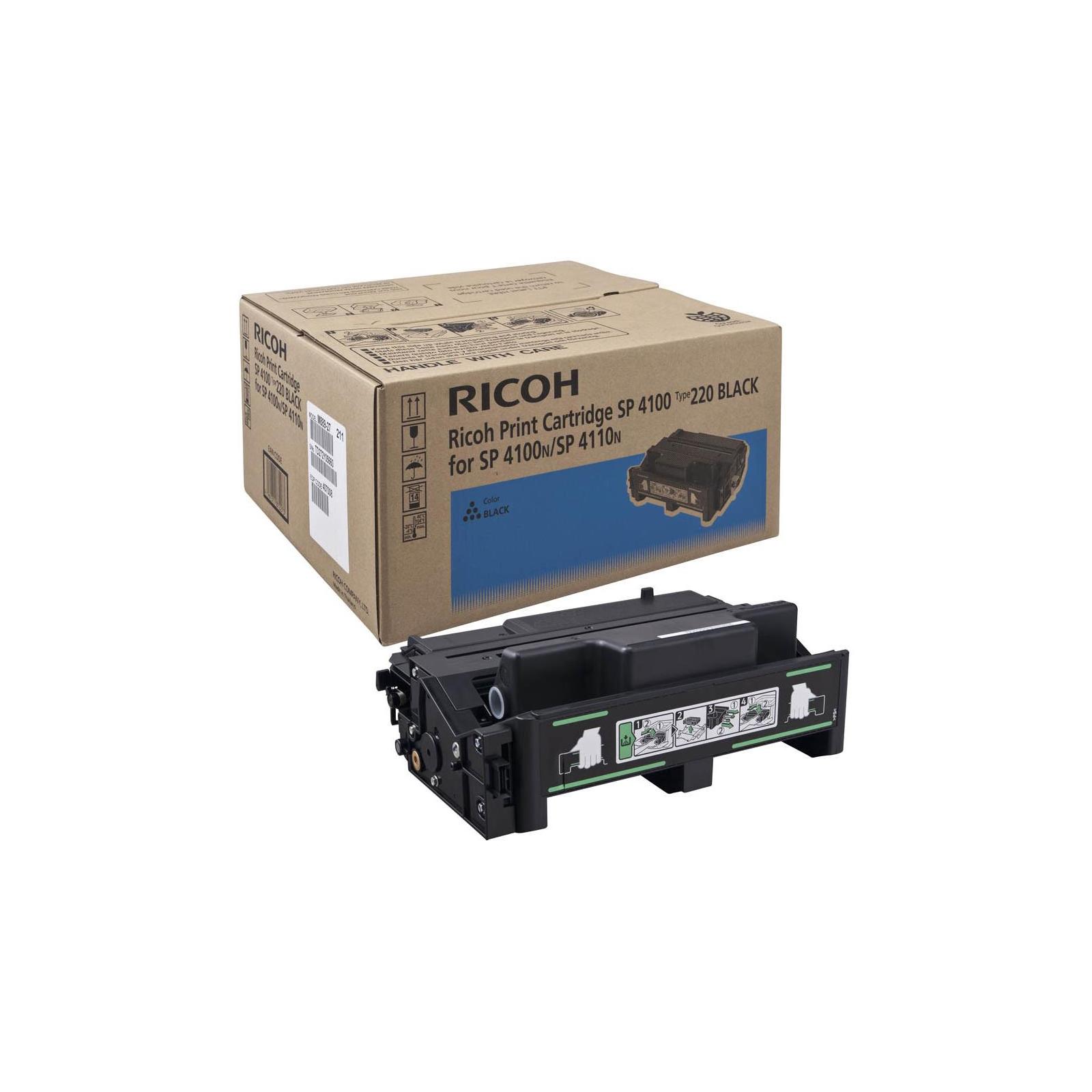 Тонер-картридж Ricoh SP4100/SP4110/SP4210/SP4310 Black 15К (407007/407008/407649)