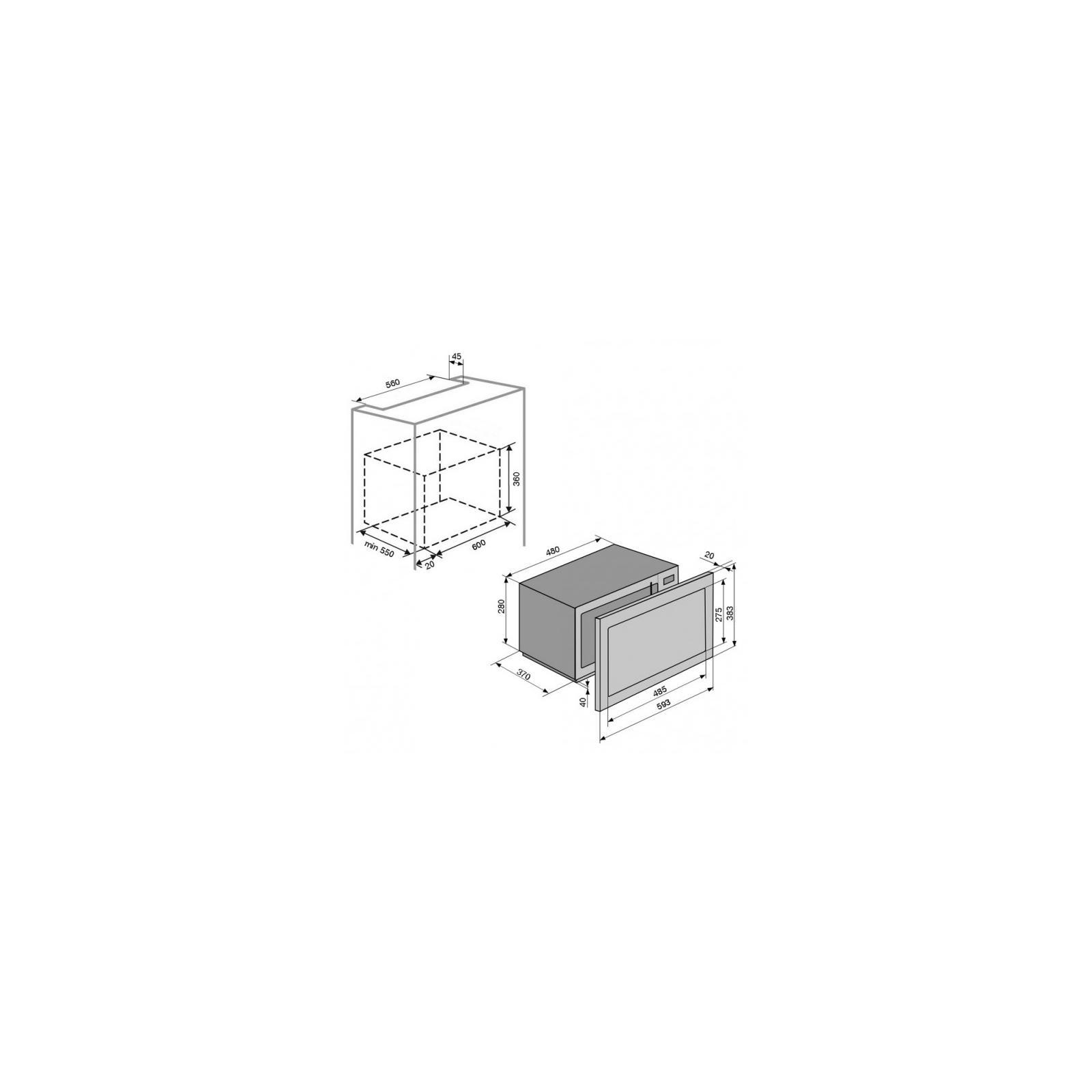 Микроволновая печь VENTOLUX MWBI 20 X изображение 7