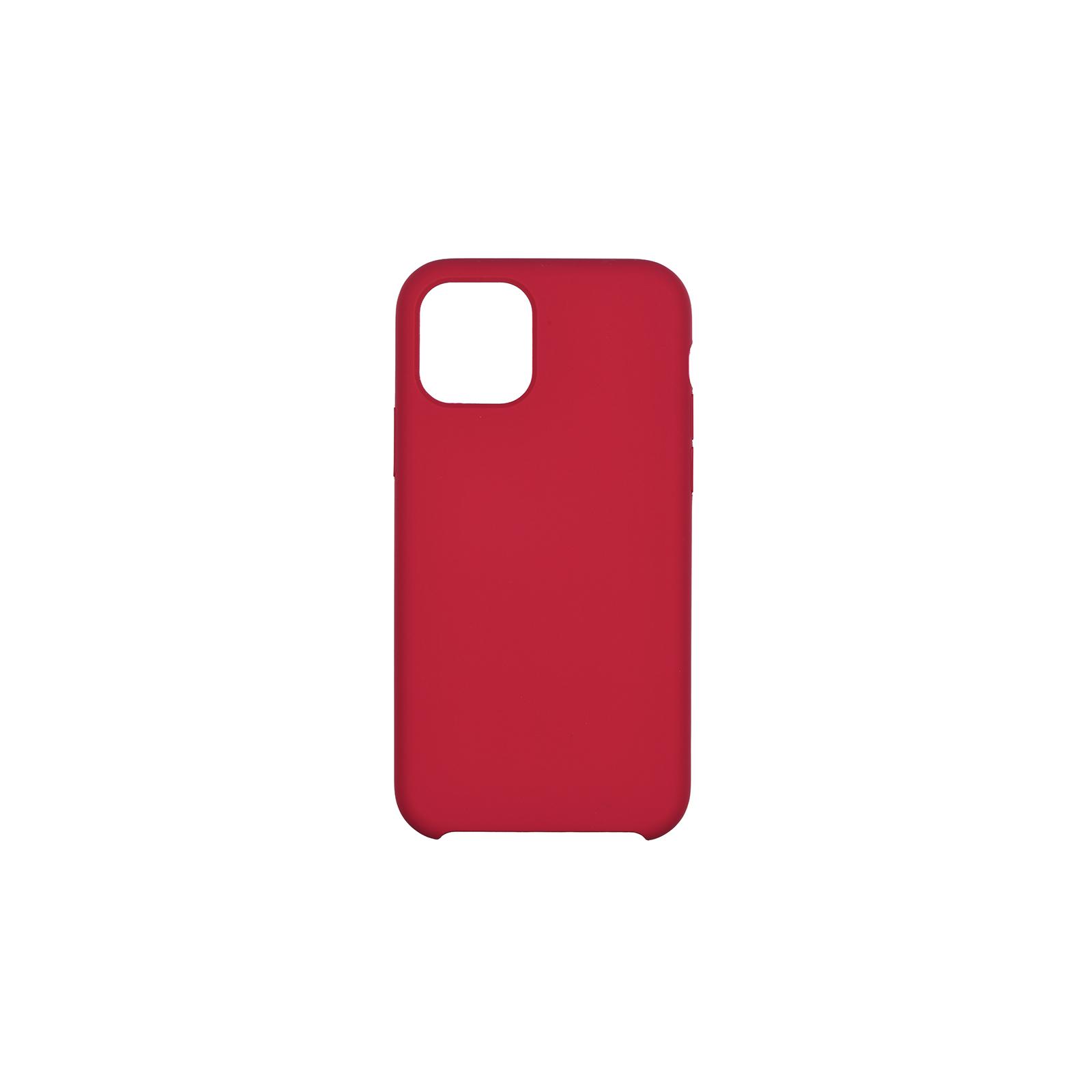 "Чехол для моб. телефона 2E Apple iPhone 11 Pro (5.8""), Liquid Silicone, Red (2E-IPH-11PR-OCLS-RD)"