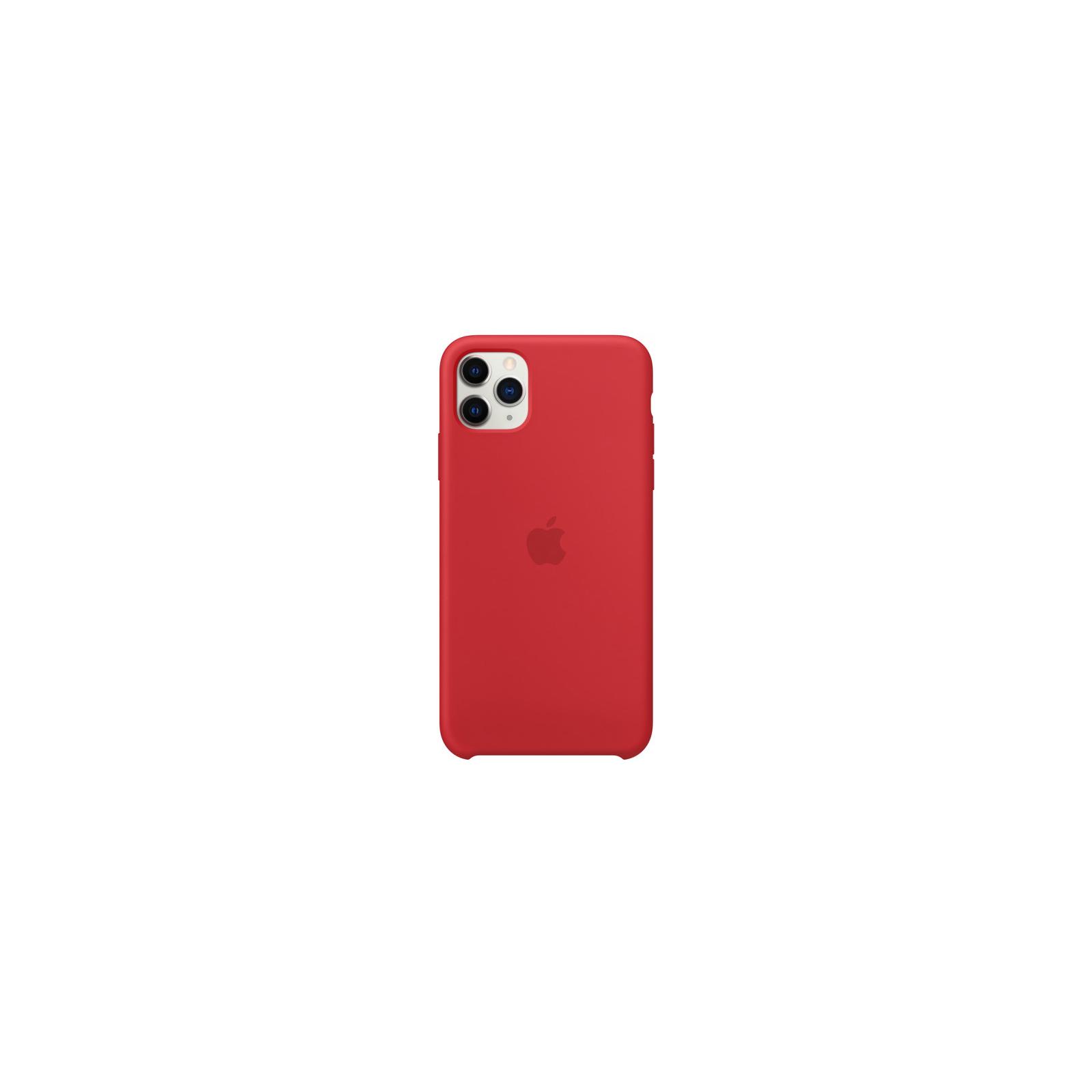 Чехол для моб. телефона Apple iPhone 11 Pro Max Silicone Case - Pine Green (MX012ZM/A) изображение 2