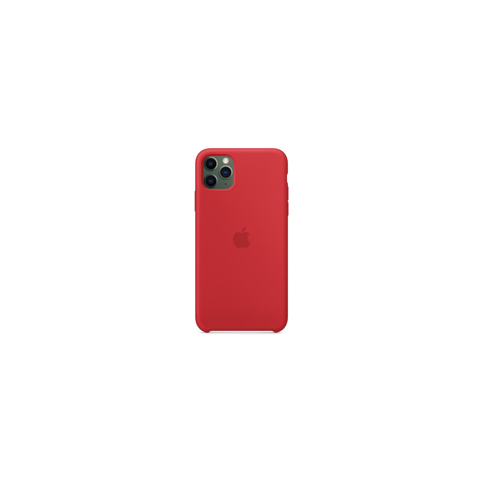 Чехол для моб. телефона Apple iPhone 11 Pro Max Silicone Case - Pine Green (MX012ZM/A) изображение 3