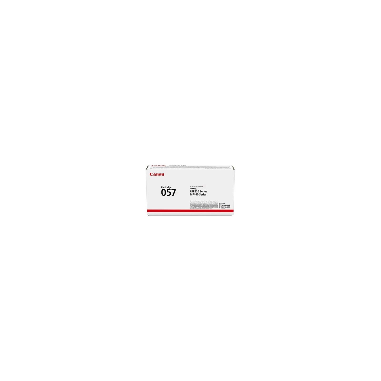 Картридж Canon 057 Black 3.1K (3009C002)
