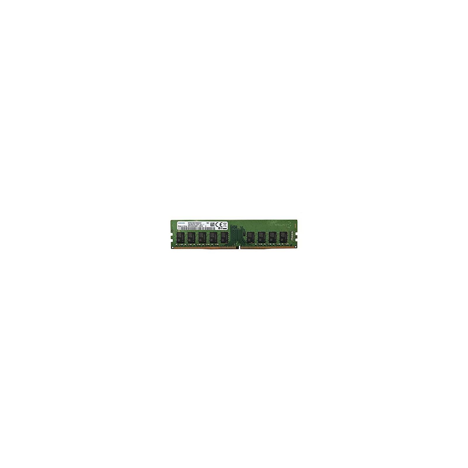 Модуль памяти для сервера DDR4 16GB ECC UDIMM 2666MHz 2Rx8 1.2V CL19 Samsung (M391A2K43BB1-CTD)