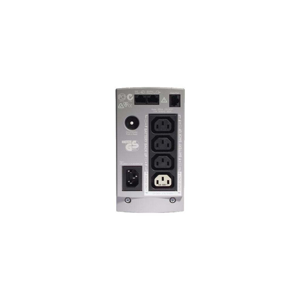 Пристрій безперебійного живлення Back-UPS CS 650VA APC (BK650EI) зображення 2