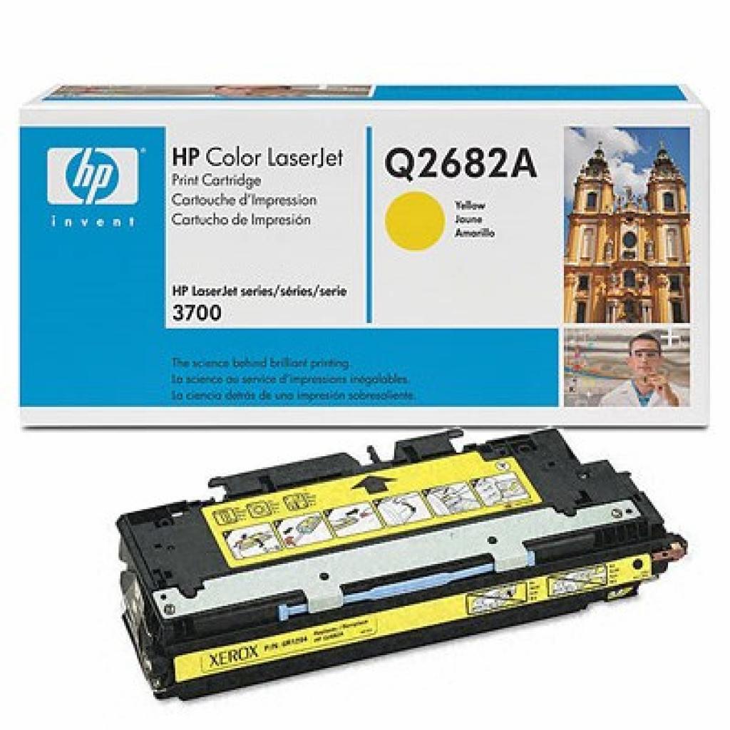 Картридж HP CLJ 3700 yellow (Q2682A)