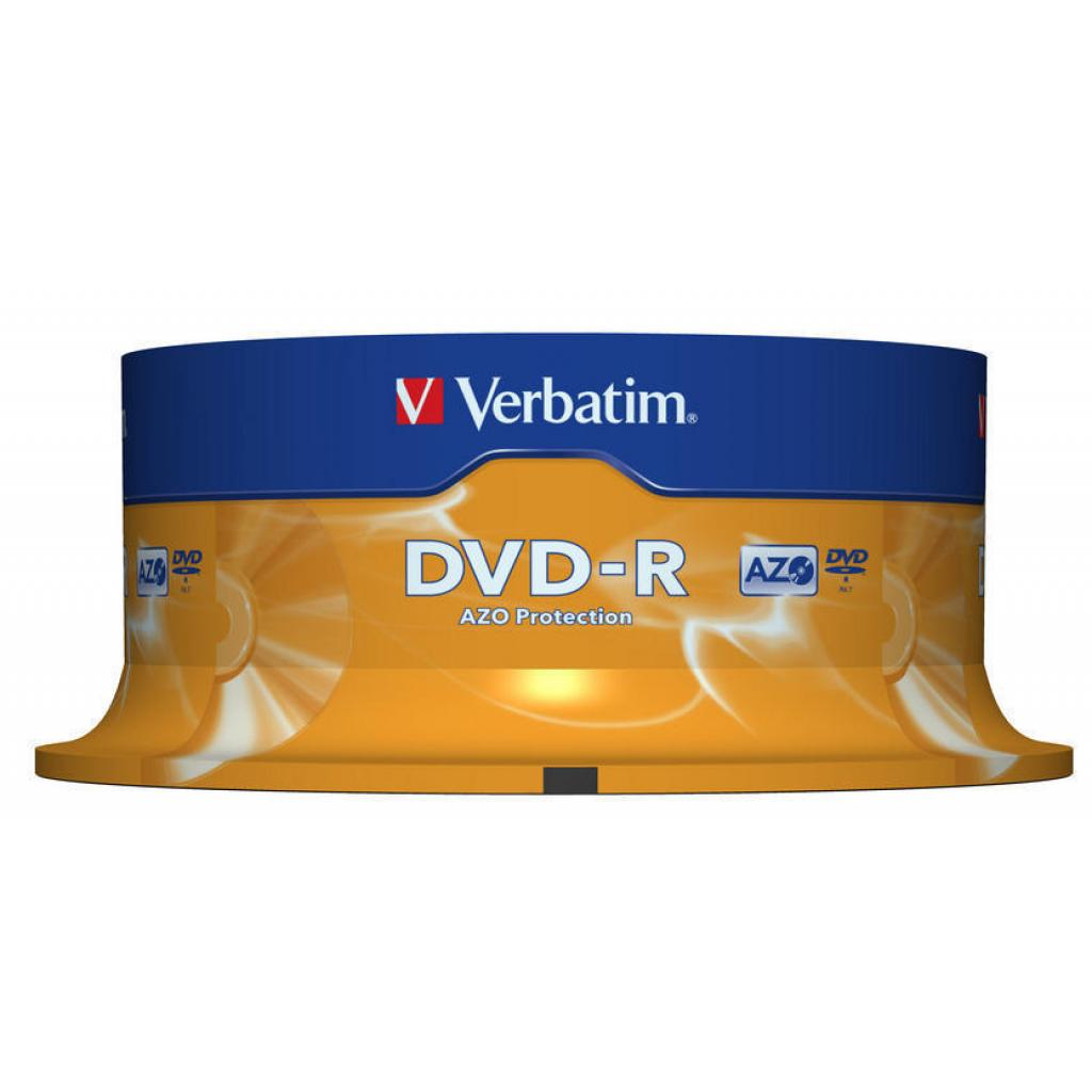 Диск DVD Verbatim 4.7Gb 16X CakeBox 25шт (43522) изображение 2