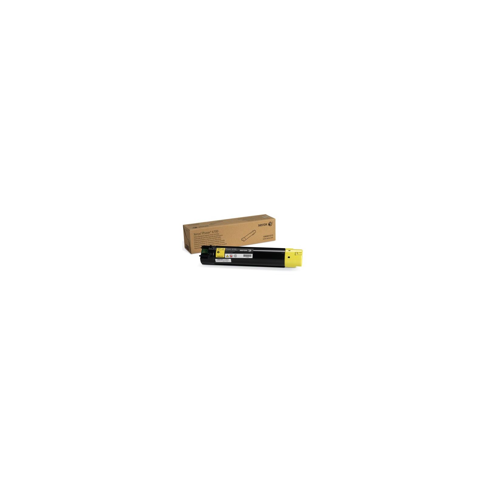 Тонер-картридж XEROX PH6700 Yellow (106R01513)