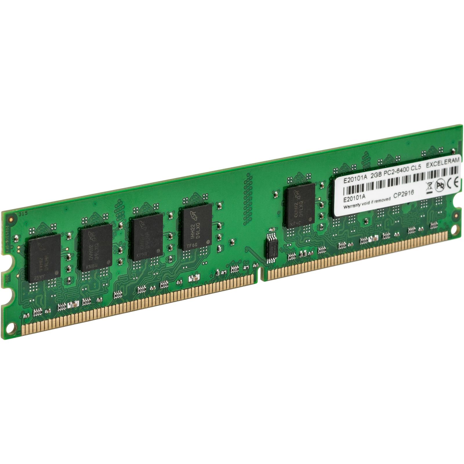 Модуль памяти для компьютера eXceleram DDR2 2GB 800 MHz (E20101A) изображение 3