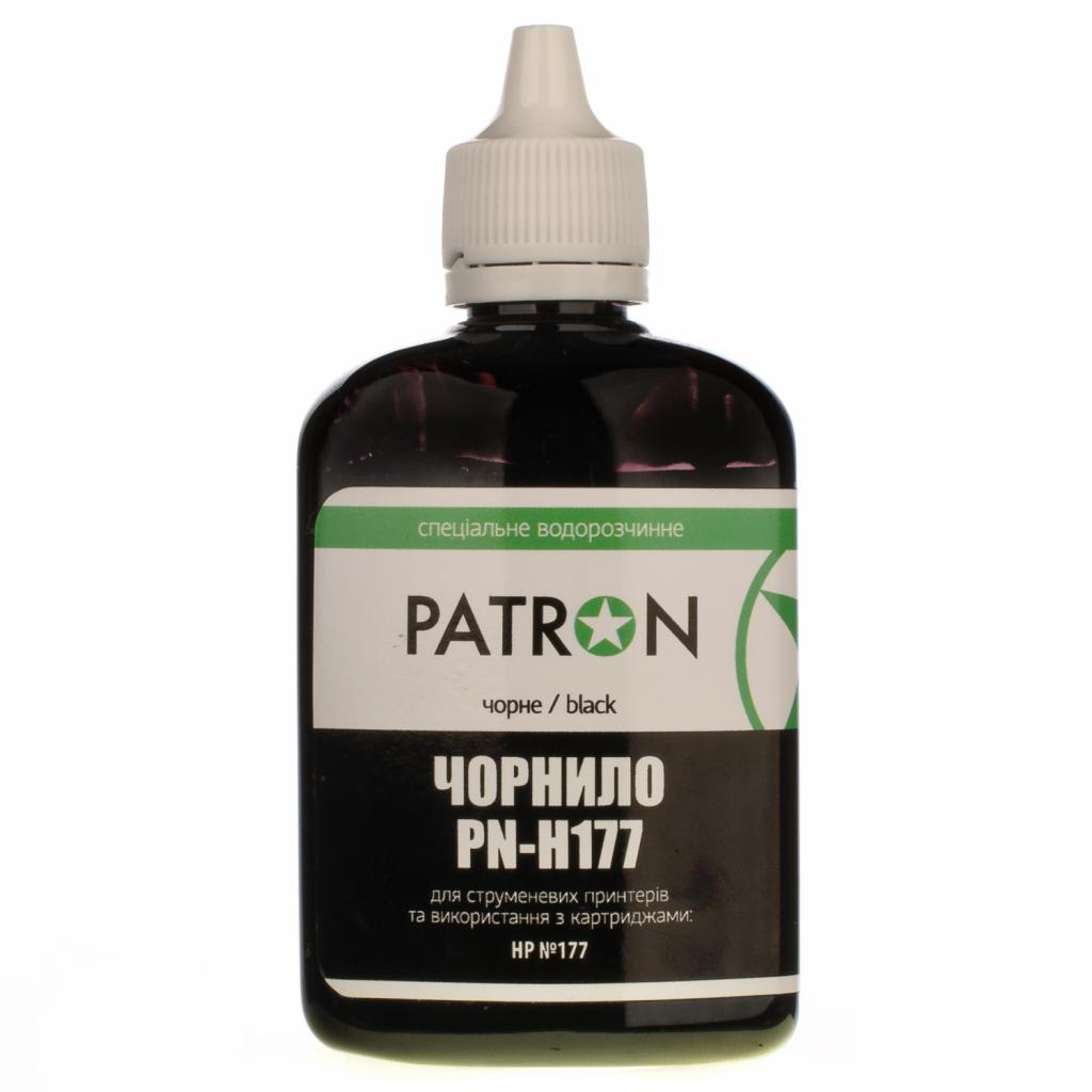 Чернила PATRON HP №177 90г BLACK для C8719/8721 (I-PN-H177-090-B)