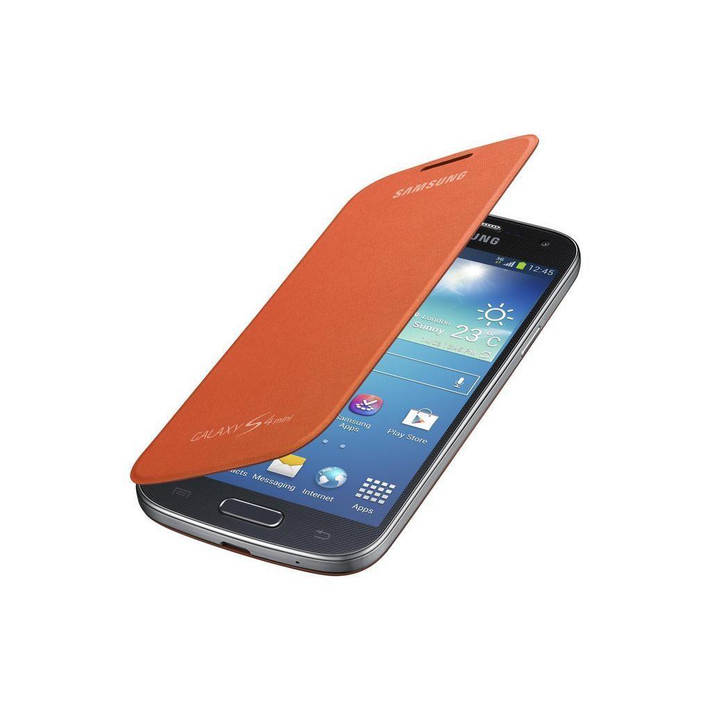 Чехол для моб. телефона Samsung I9195 S4 mini/Orange/Flip Cover (EF-FI919BOEGWW) изображение 2