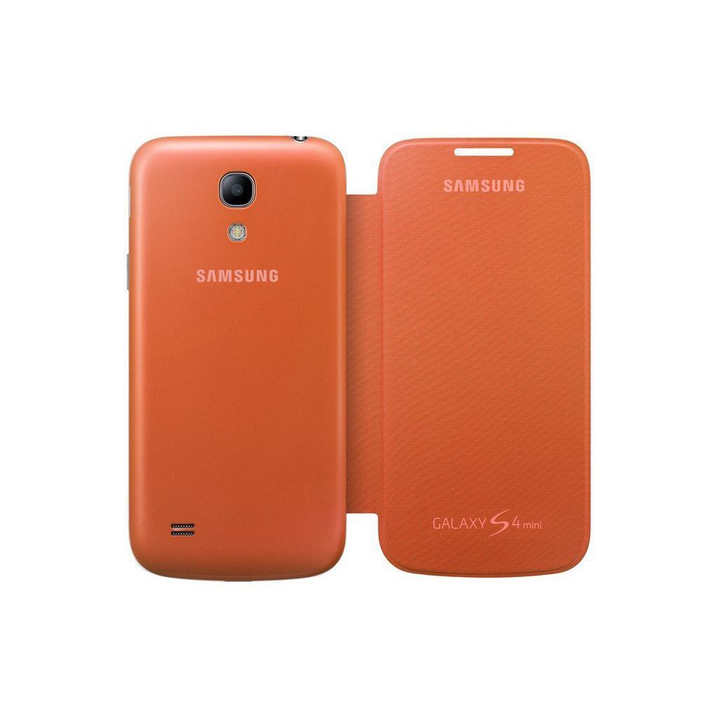 Чехол для моб. телефона Samsung I9195 S4 mini/Orange/Flip Cover (EF-FI919BOEGWW) изображение 5