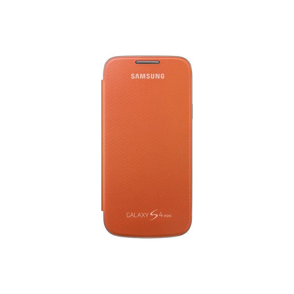 Чехол для моб. телефона Samsung I9195 S4 mini/Orange/Flip Cover (EF-FI919BOEGWW)