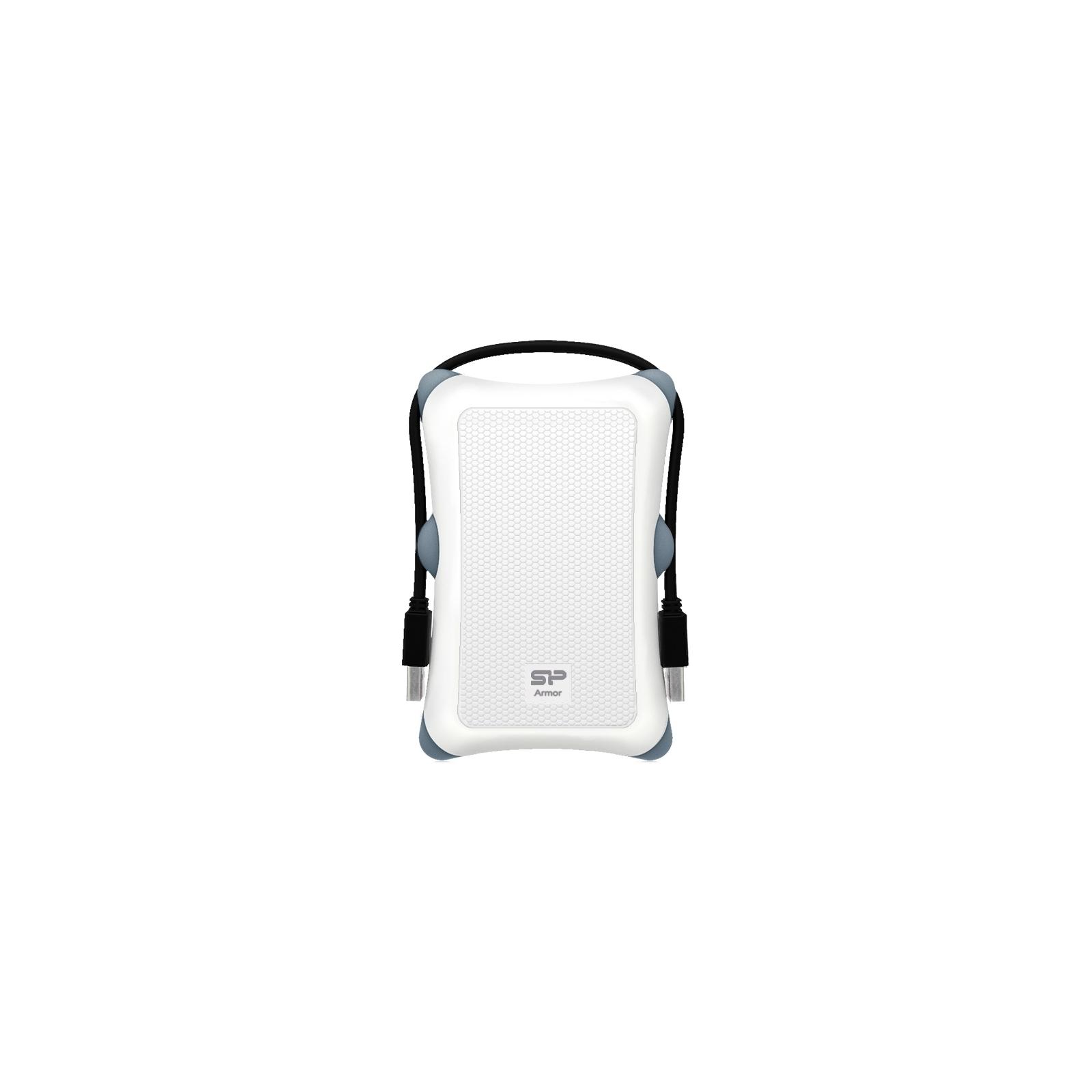 """Внешний жесткий диск 2.5"""" 1TB Silicon Power (SP010TBPHDA30S3W)"""