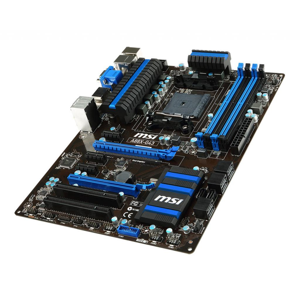 Материнская плата MSI A88X-G43 изображение 3