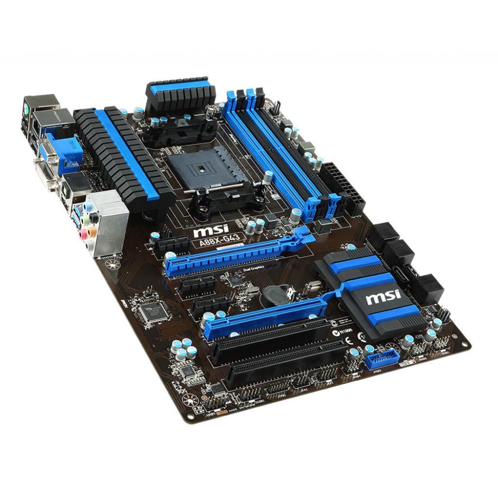 Материнская плата MSI A88X-G43 изображение 4