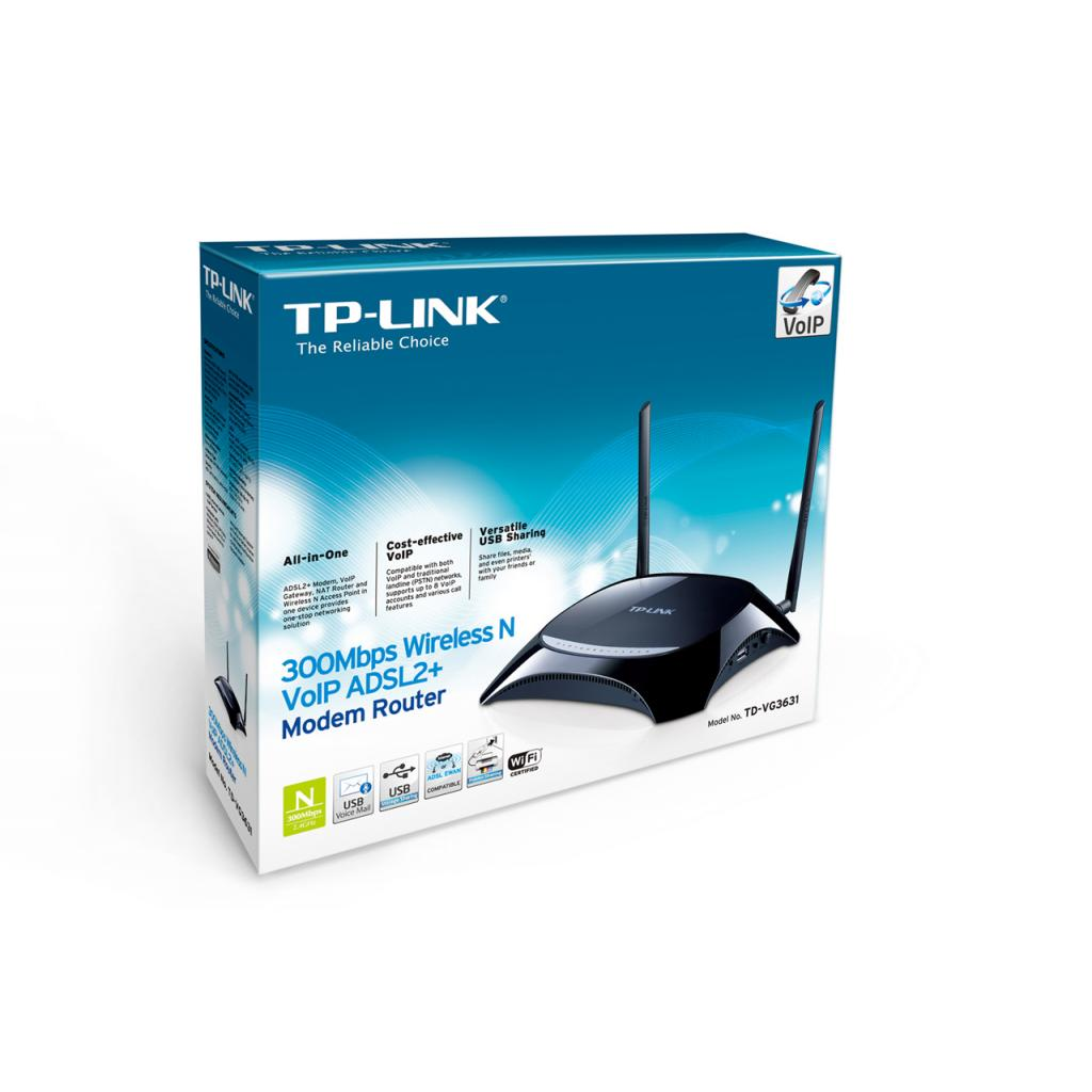 Маршрутизатор TP-Link TD-VG3631 изображение 7