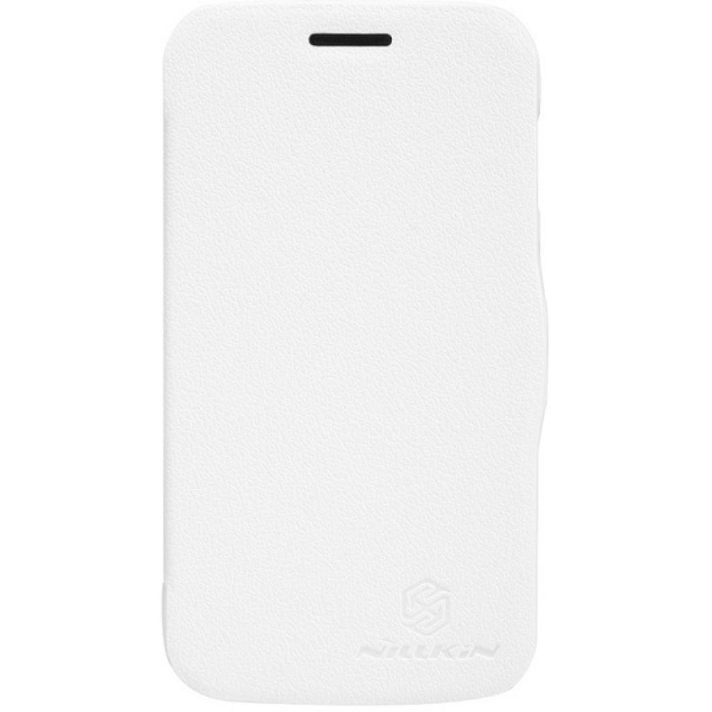 Чехол для моб. телефона NILLKIN для Samsung S7272 /Fresh/ Leather/White (6129107)