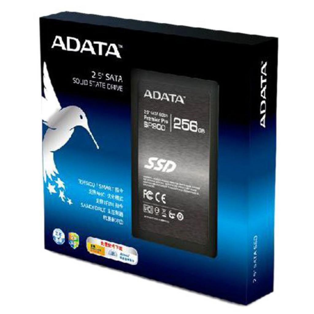 """Накопитель SSD 2.5"""" 256GB ADATA (ASP900S3-256GM-C) изображение 4"""