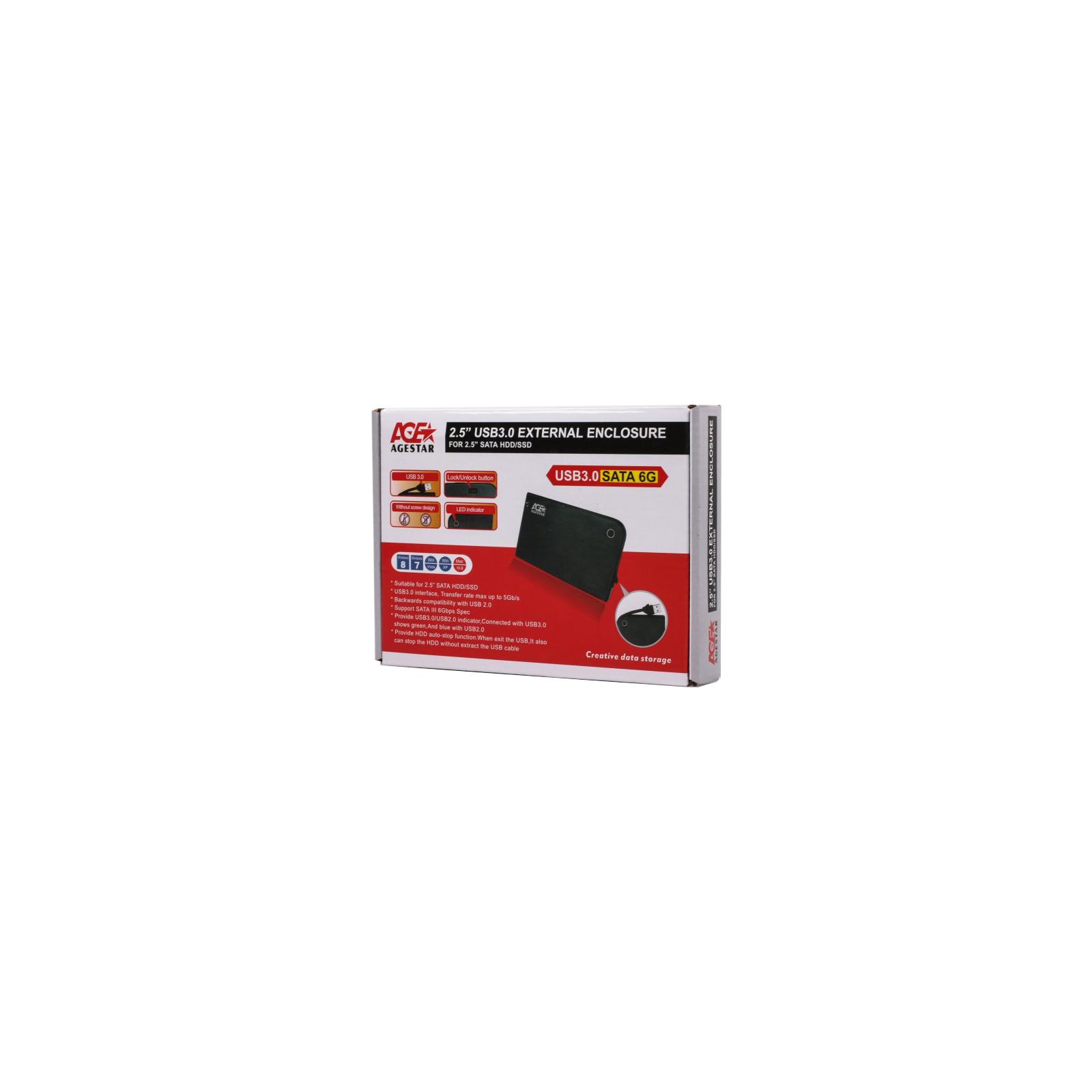 Карман внешний 3UB 2A14 (Red) AgeStar изображение 2