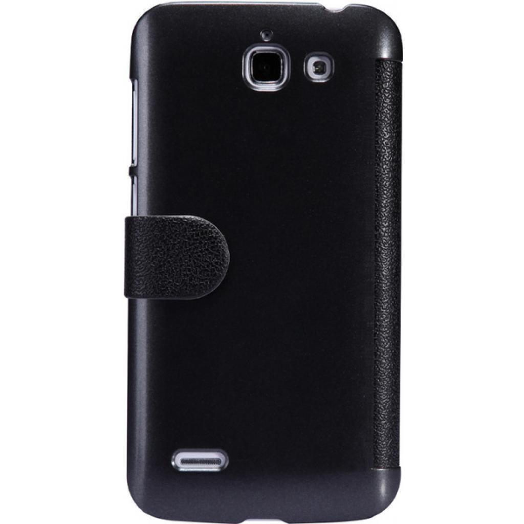 Чехол для моб. телефона NILLKIN для Huawei G730/Fresh/ Leather/Black (6147122) изображение 5