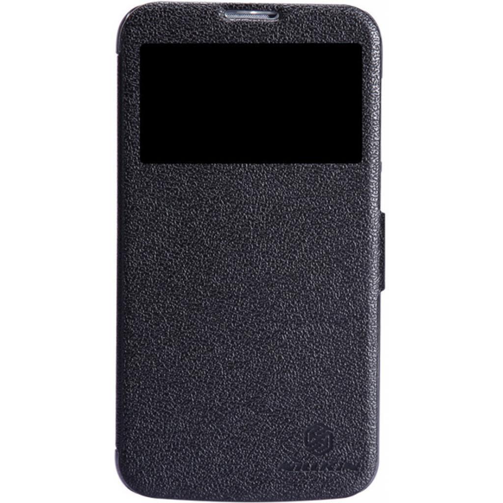 Чехол для моб. телефона NILLKIN для Huawei G730/Fresh/ Leather/Black (6147122)