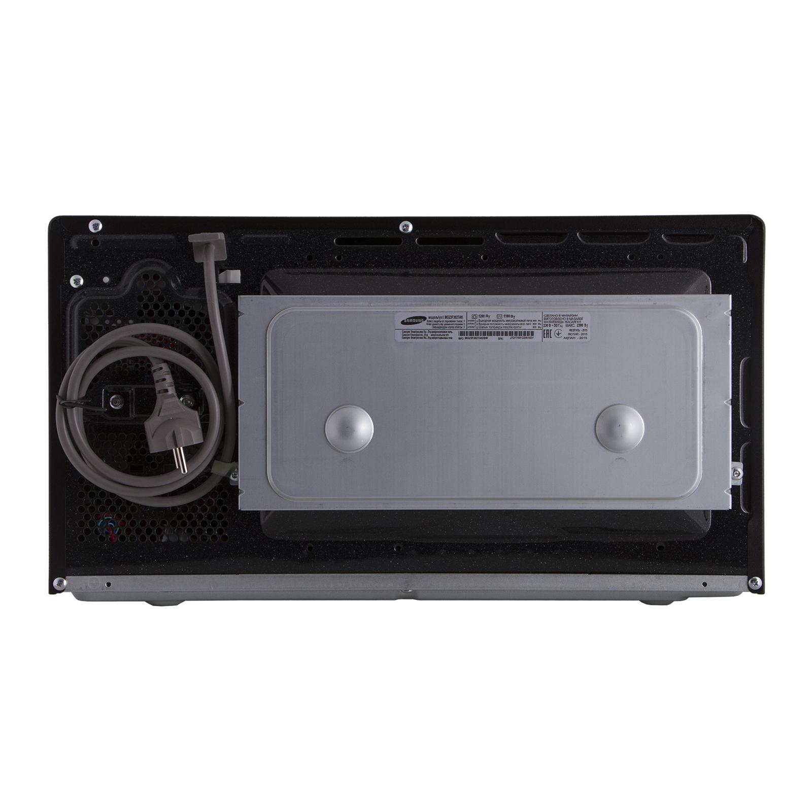 Микроволновая печь Samsung MG23F302TAK/BW изображение 4