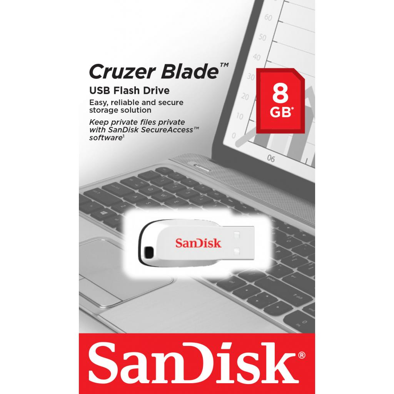 USB флеш накопитель SanDisk 16GB Cruzer Blade Pink USB 2.0 (SDCZ50C-016G-B35PE) изображение 3