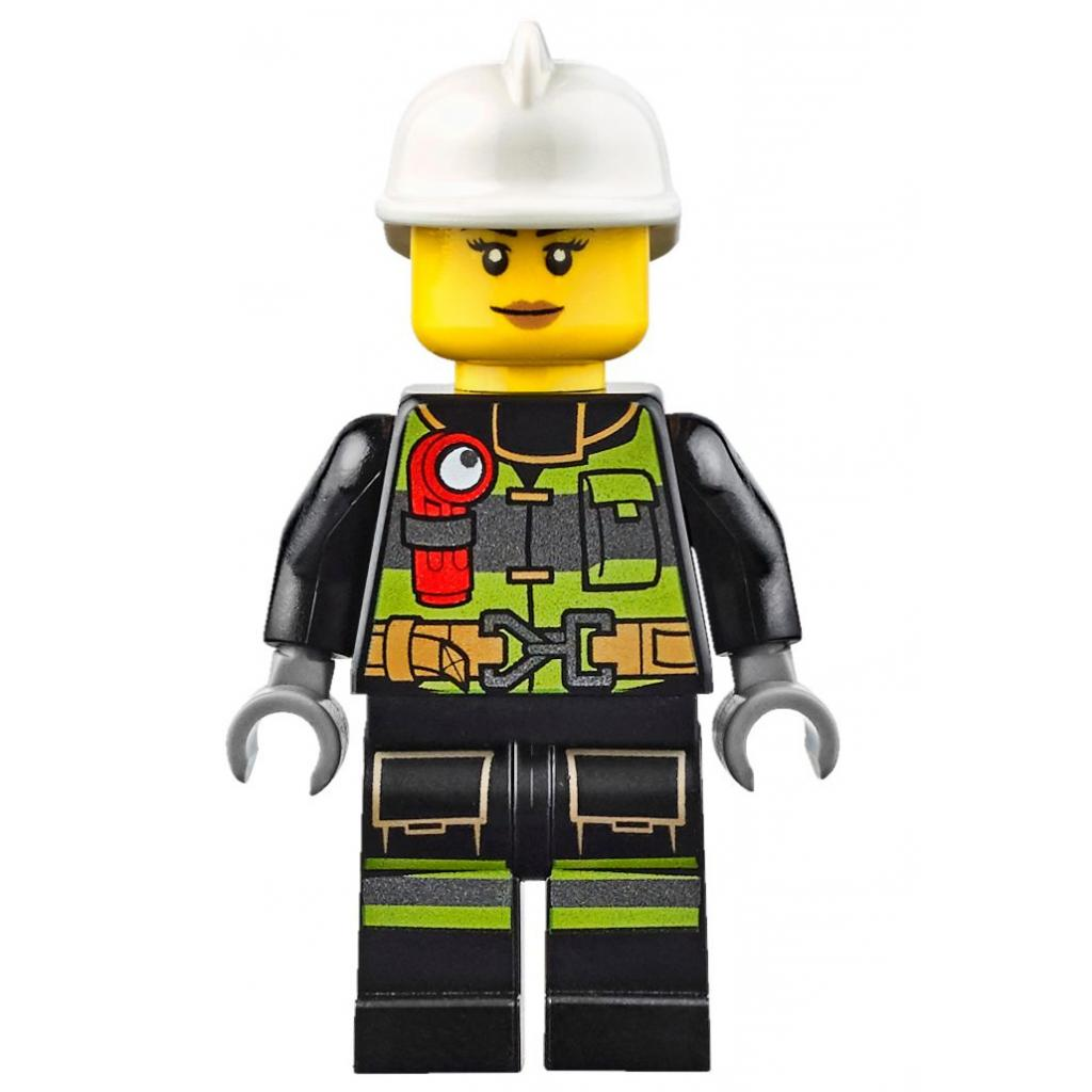 Конструктор LEGO City Fire Пожарный автомобиль с лестницей (60107) изображение 5