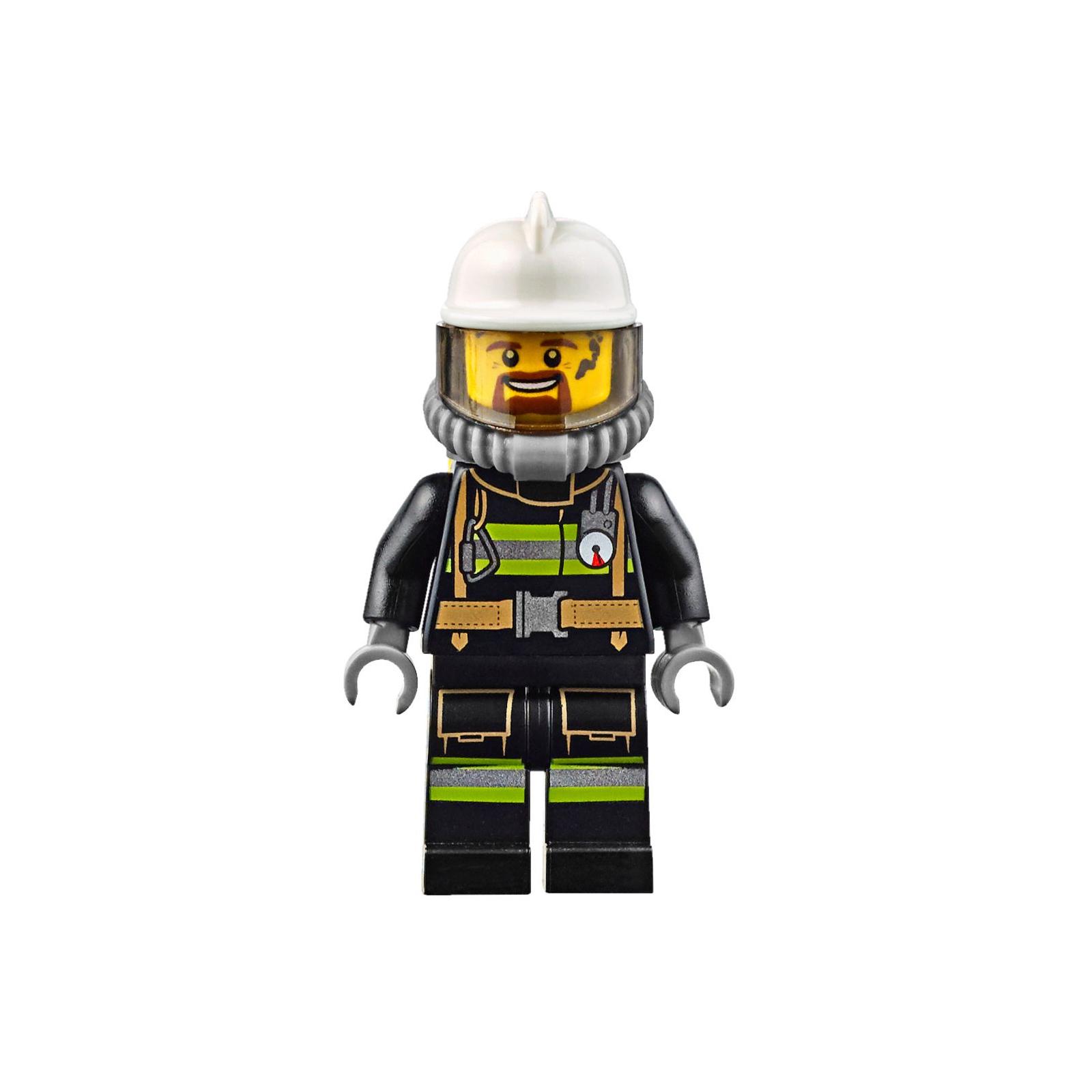 Конструктор LEGO City Fire Пожарный автомобиль с лестницей (60107) изображение 6