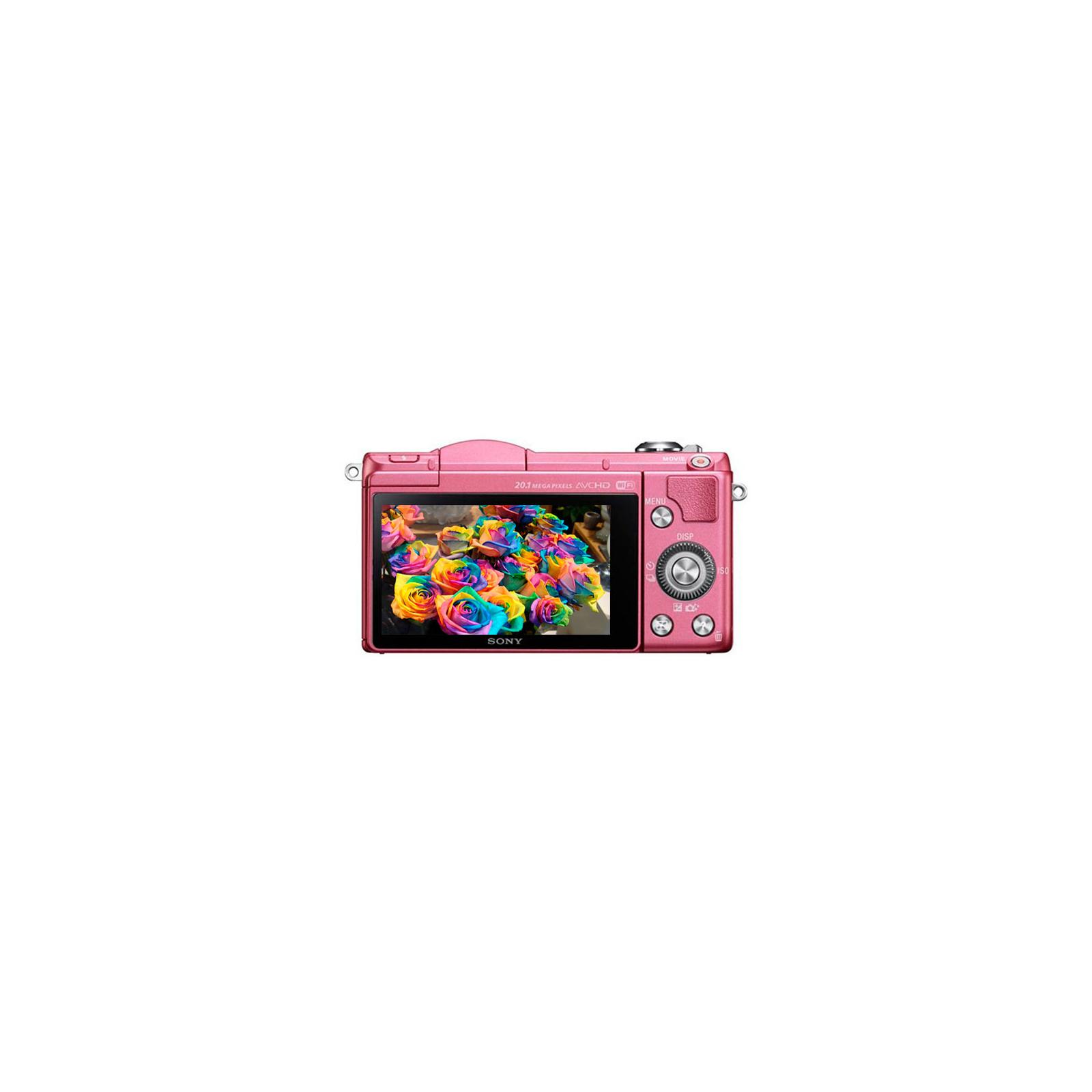 Цифровой фотоаппарат SONY Alpha 5000 kit 16-50 Pink (ILCE5000LP.CEC) изображение 3