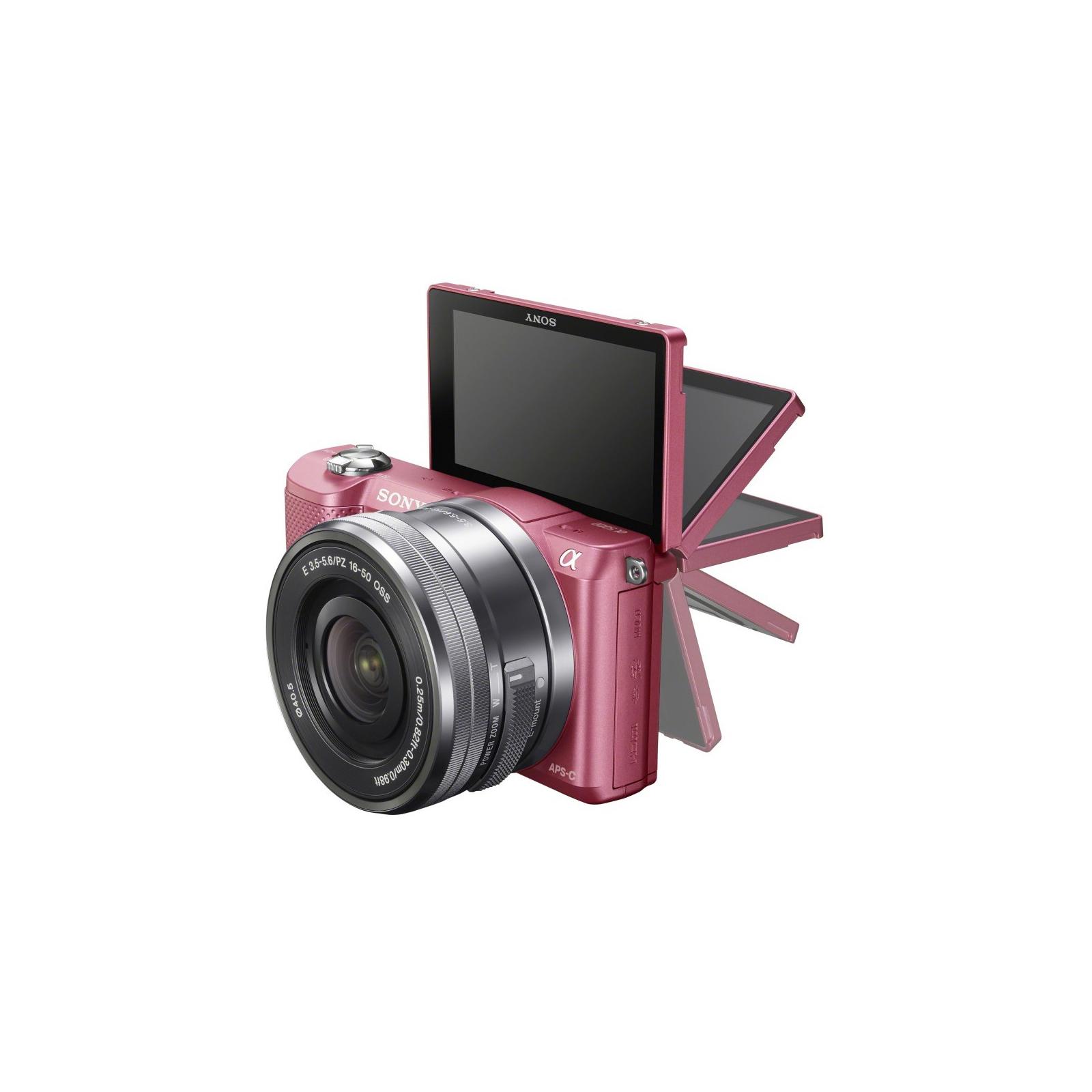 Цифровой фотоаппарат SONY Alpha 5000 kit 16-50 Pink (ILCE5000LP.CEC) изображение 4