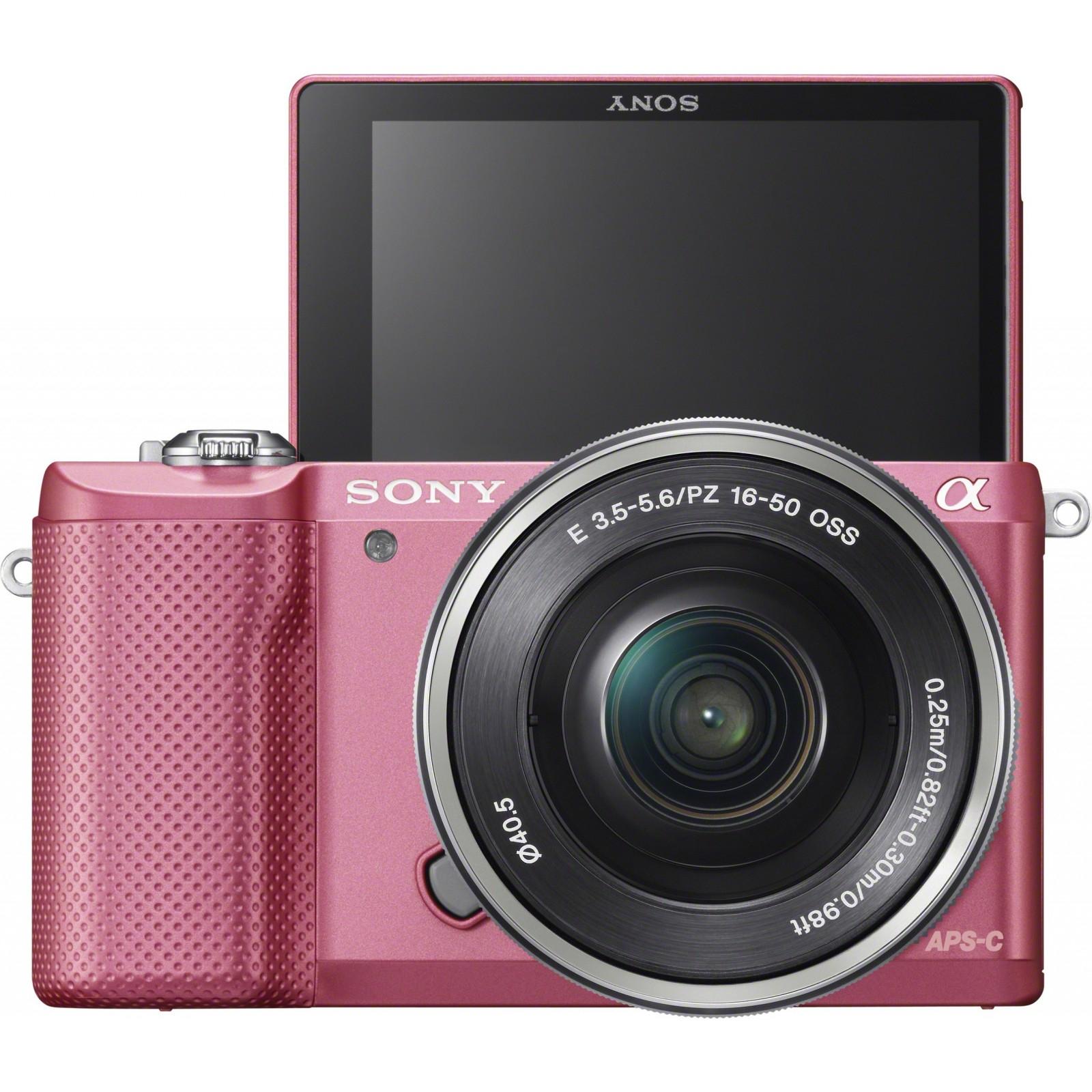 Цифровой фотоаппарат SONY Alpha 5000 kit 16-50 Pink (ILCE5000LP.CEC) изображение 5