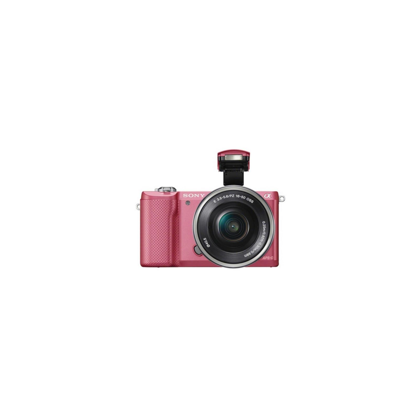 Цифровой фотоаппарат SONY Alpha 5000 kit 16-50 Pink (ILCE5000LP.CEC) изображение 6