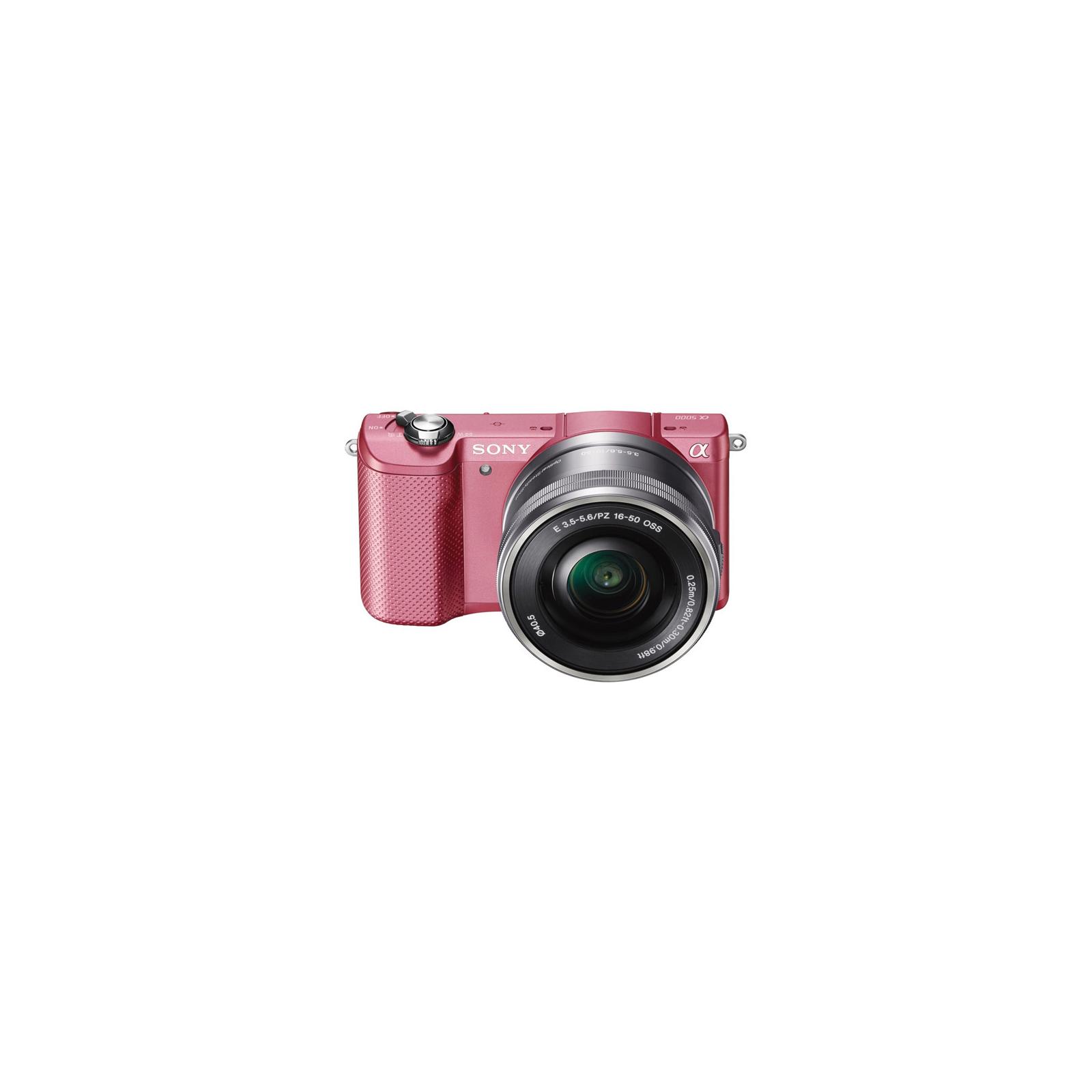 Цифровой фотоаппарат SONY Alpha 5000 kit 16-50 Pink (ILCE5000LP.CEC) изображение 7