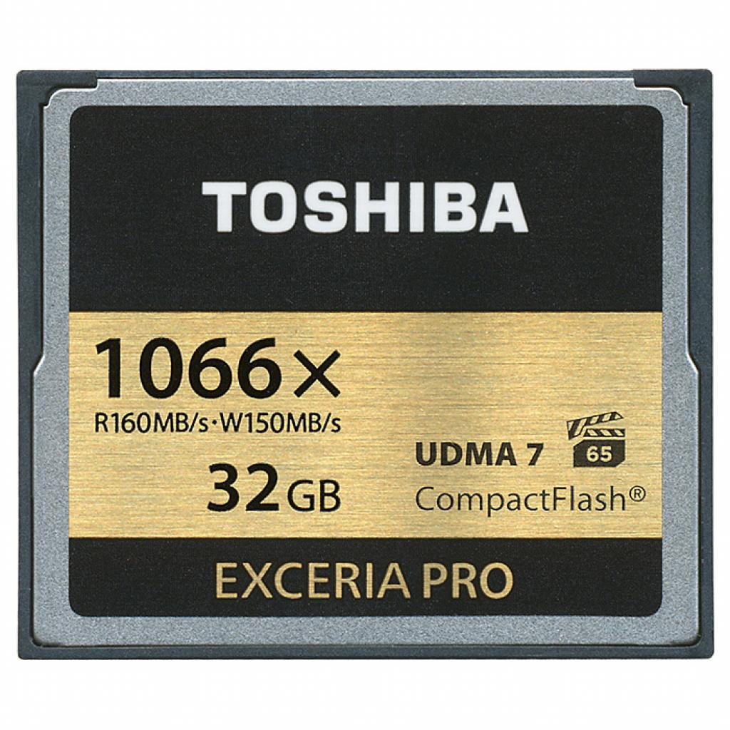 Карта памяти TOSHIBA 32GB Compact Flash 1000X (CF-032GSG(BL8)