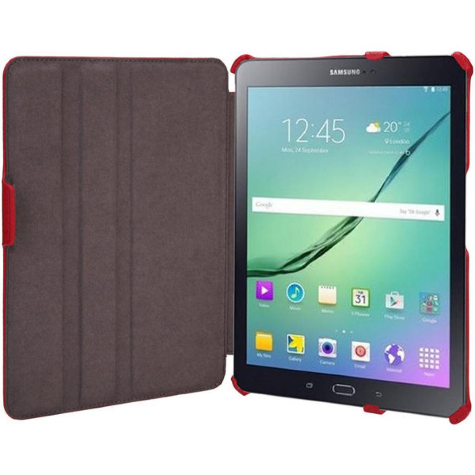 Чехол для планшета AirOn для Samsung Galaxy Tab S 2 8.0 red (4822352777524) изображение 8