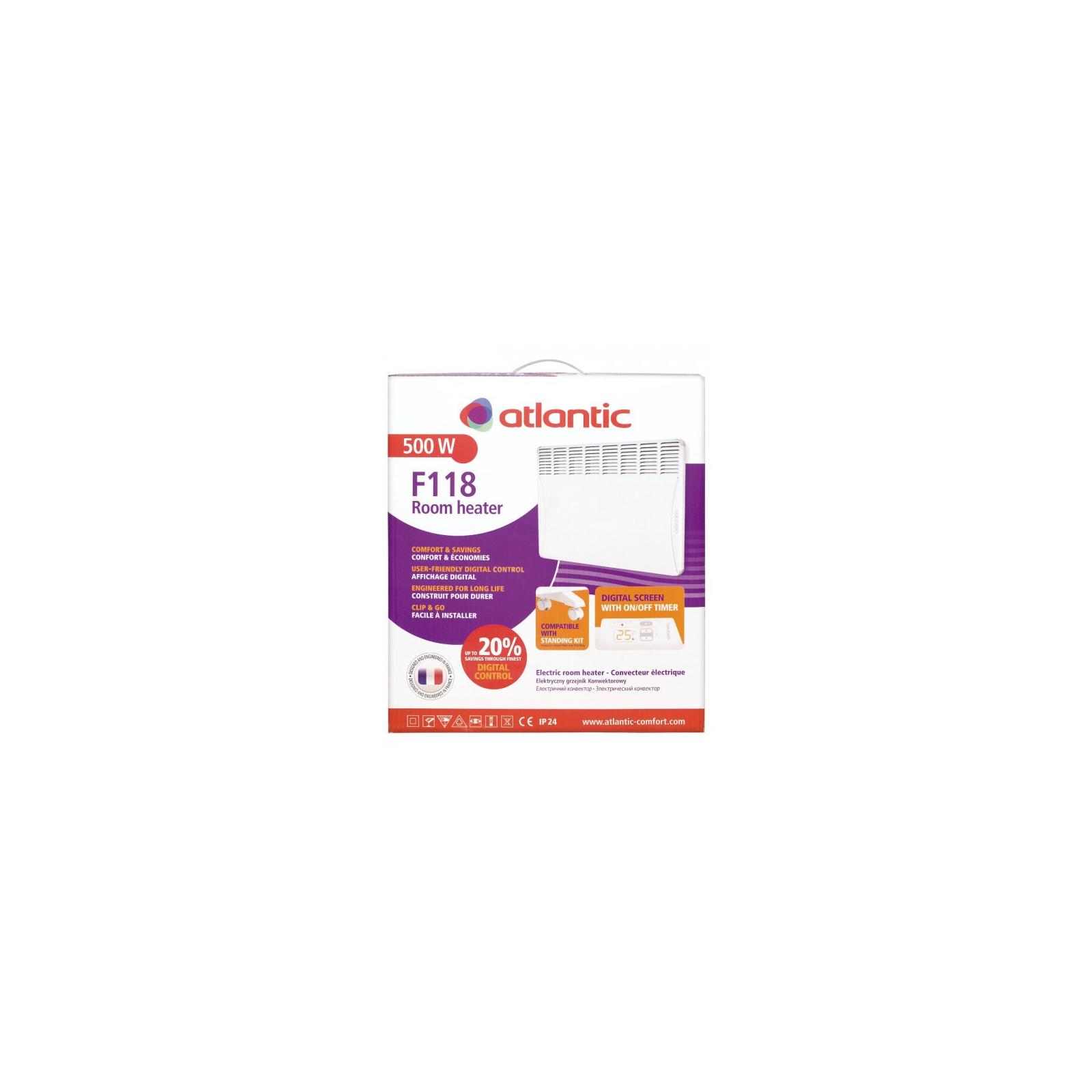 Обогреватель ATLANTIC F118 Digit CMG-D MK01 500 NEW изображение 4