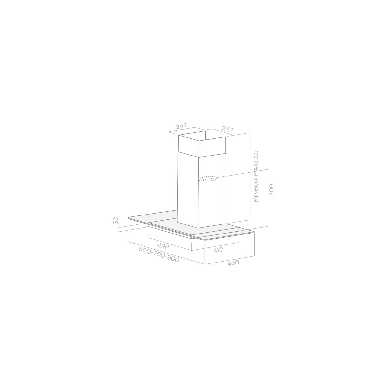 Вытяжка кухонная Elica FLAT GLASS PLUS IX/A/60 изображение 2