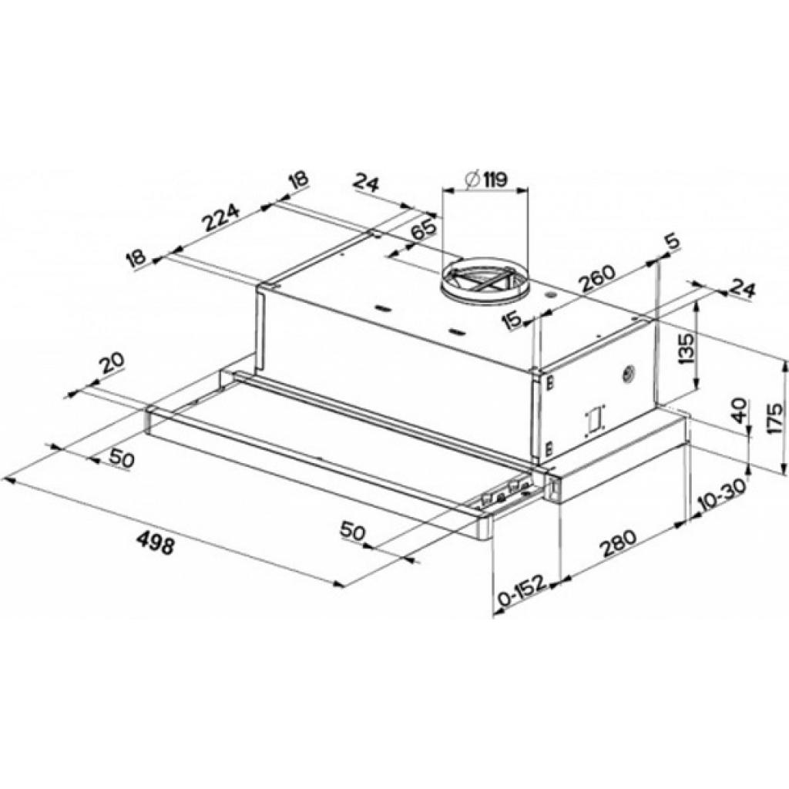 Вытяжка кухонная Faber FLEXA M6 AM/X A50 FB EXP изображение 2