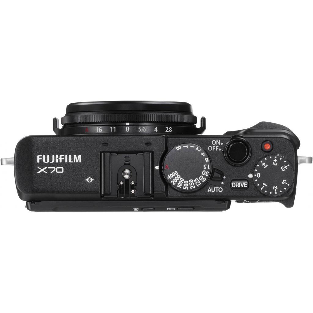 Цифровой фотоаппарат Fujifilm FinePix X70 Black (16499148) изображение 4