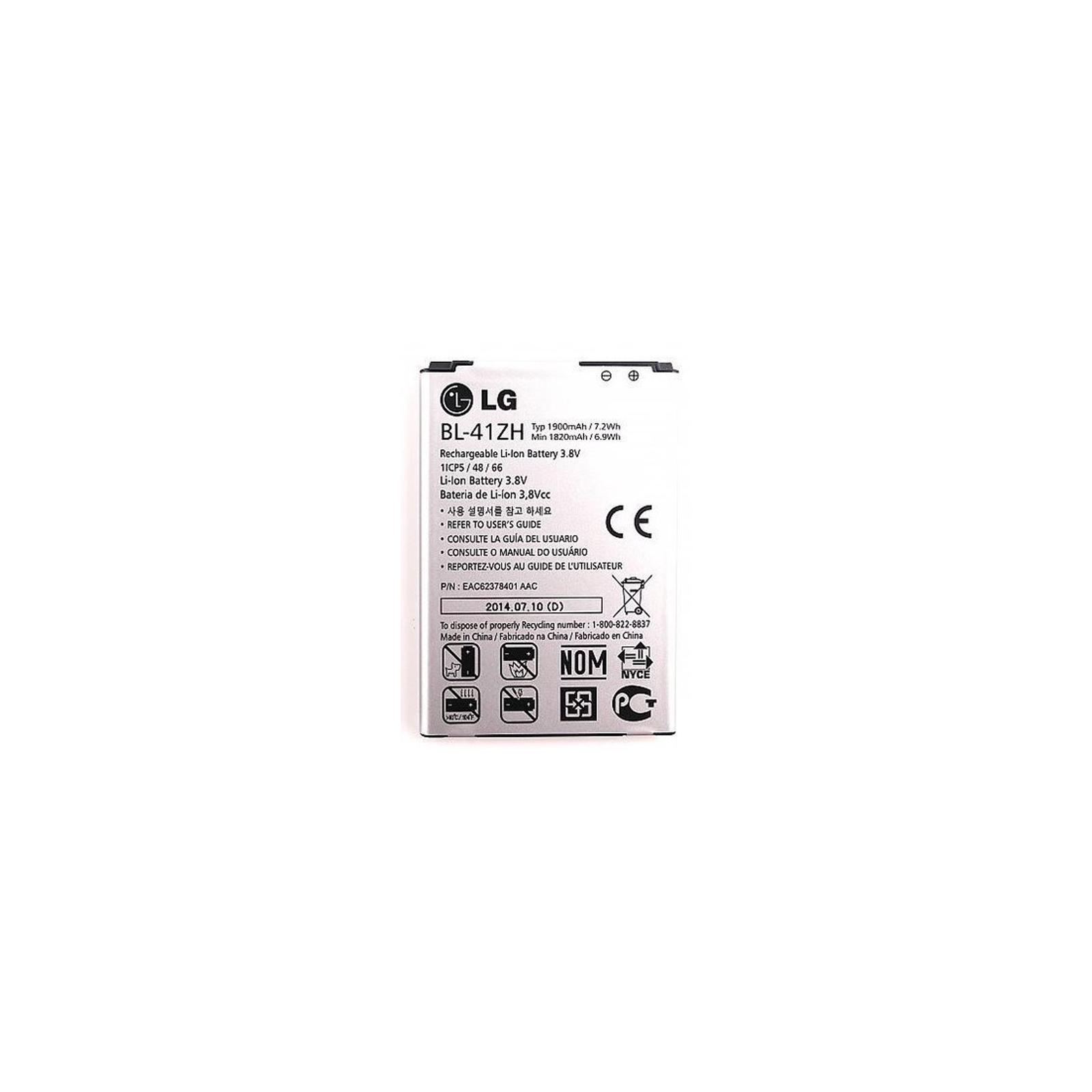 Аккумуляторная батарея LG for L FINO/LEON/L50/D213/D221/D295/H324 (BL-41ZH / 37272)