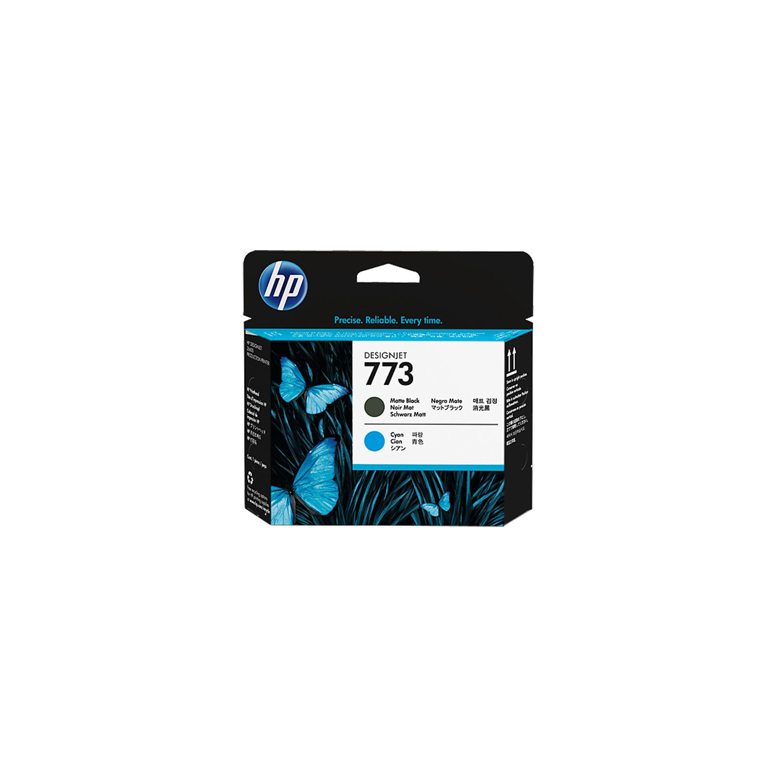 Печатающая головка HP No.773 Matte Black/Cyan Designjet Printhead (C1Q20A)