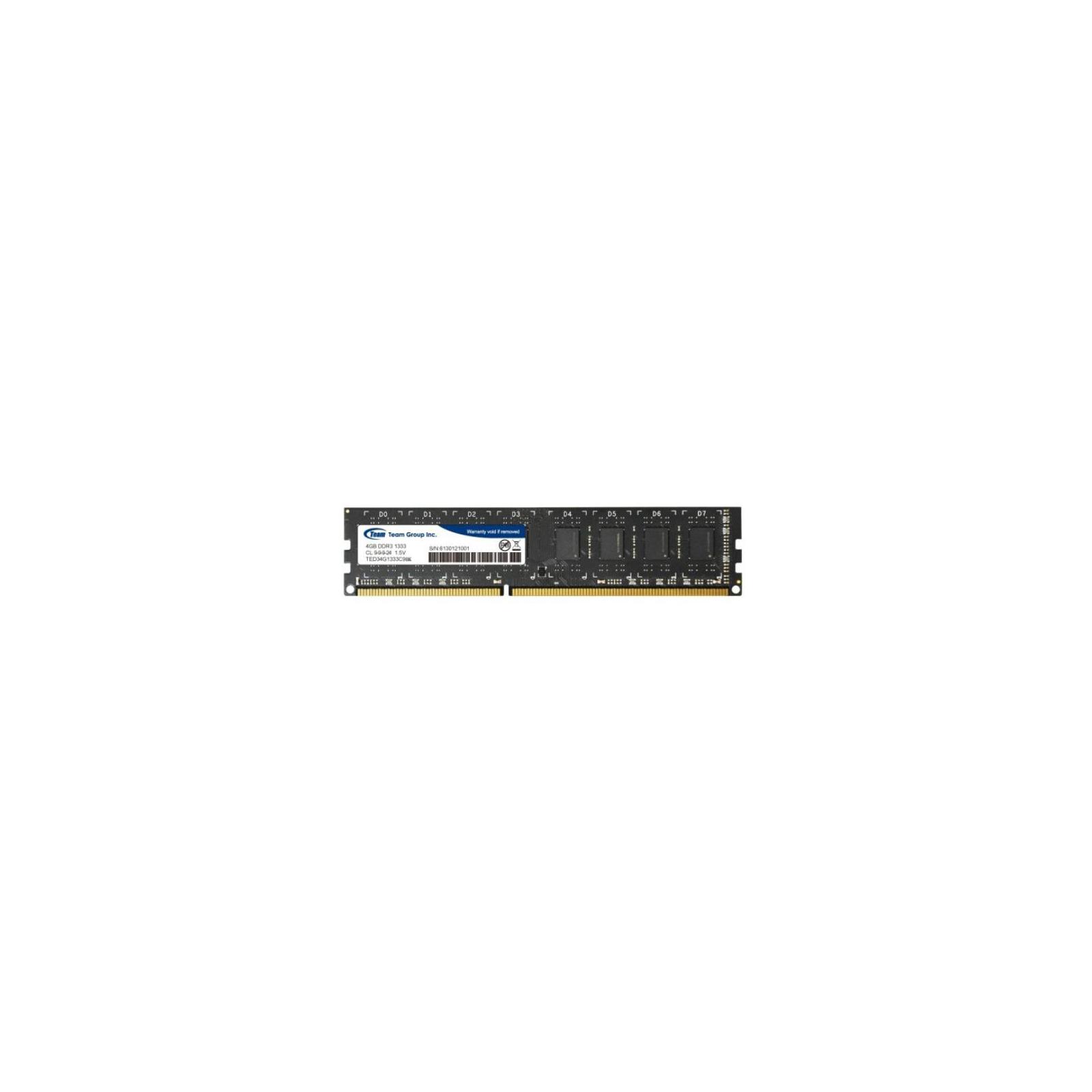 Модуль памяти для компьютера DDR3 4GB 1600 MHz Team (TED3L4G1600C11BK)